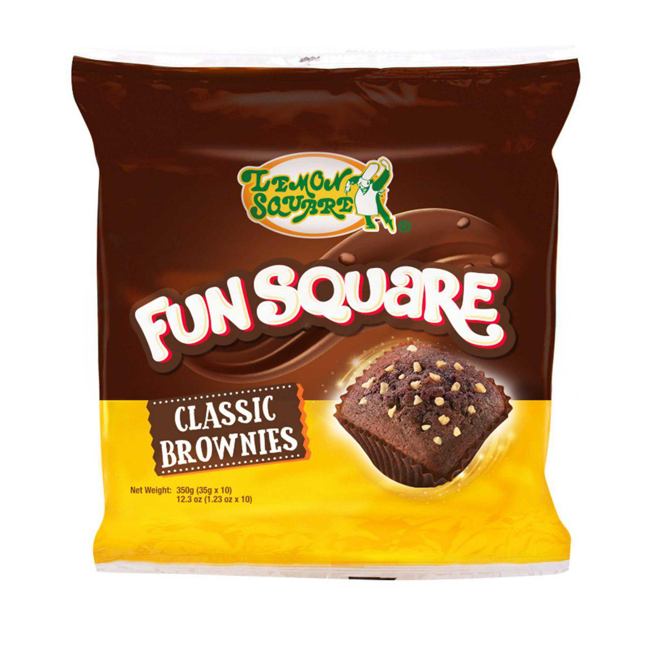 Fun Square Classic Brownies